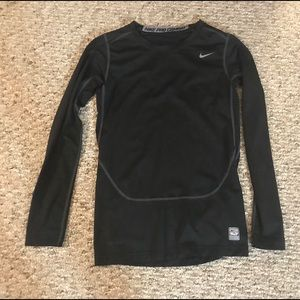 Boys Nike pro combat compression shirt